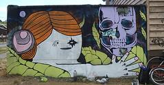 Hola Satanás (GrupoRespetoArteUrbano) Tags: chile street streetart muro art arte bajo grupo sur urbano muralla lis pintura calavera osorno respeto arteurbano mañuco rahue pelodelobo pelotieso gruporespeto postgrafiti