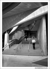 The stairs to the chamber (ccgd) Tags: bw scotland edinburgh stair parliament