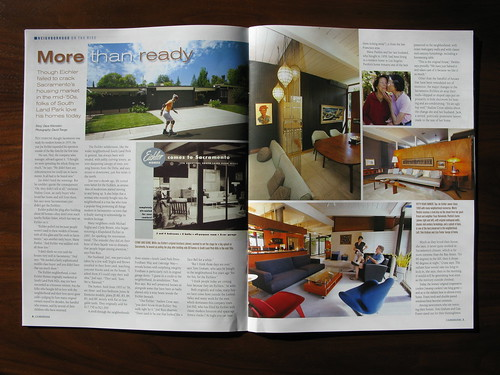 Page 1 - Neighborhood on the Rise: Sacramento - Winter 2011: CA Modern (Eichler Network)