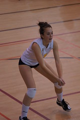 Women's College Volleyball, Sherbrooke Vert Et Or VS Universit de Montral Carabins, Sony A55, Montreal, 16 January 2011 (431) (proacguy1) Tags: montreal womenscollegevolleyball sonya55 sherbrookevertetorvsuniversitdemontralcarabins 16january2011