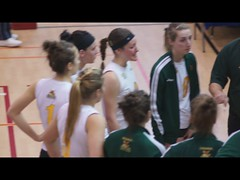 Women's College Volleyball VIDEO Sherbrooke Rouge Et Or VS Universit de Montral Carabins, Timeout, Sony A55, Montreal, 16 January 2011 (4) (proacguy1) Tags: montreal timeout sonya55 womenscollegevolleyballvideosherbrookerougeetorvsuniversitdemontralcarabins 16january2011