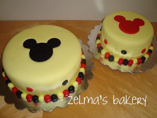 Mickey Cakes 1 & 2