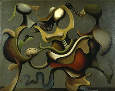 Seligmann, Kurt (1900-1962) - 1935 Painting which Prefers the D to the R (Kunstmuseum Bern, Switzerland)