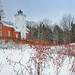 """Winter Berries""  40 Mile Point Lighthouse, Rogers City Michigan"