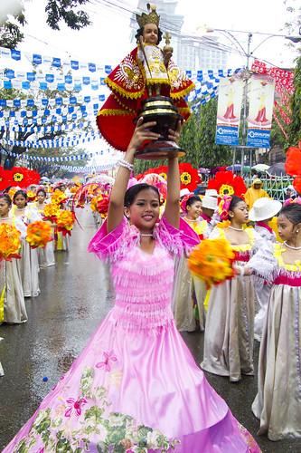 street parade during sinulog 2011