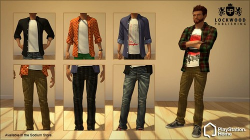 PlayStation Home: Lockwood Jeans
