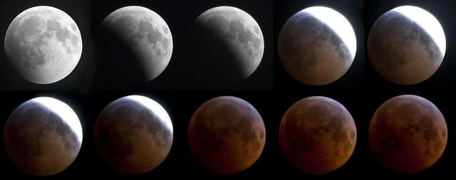 2010 12-21 Adam Thede - Lunar Eclipse (Montage 2) 2)