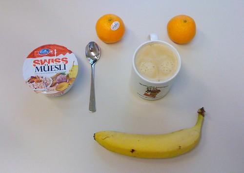 Clementinen, Swiss Müesli & Banane