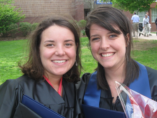 abby + ruth, graduation day