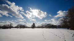 _MG_5848-14 (k.a. gilbert) Tags: winter sky sun snow clouds outside outdoors naturallight golfcourse handheld fullframe manualfocus 116 uwa triggs tokina1116mmf28 canon5dc