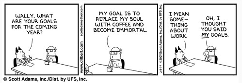 Dilbert Setting Goals