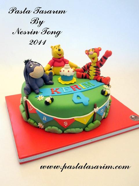 WINNIE THE POOH CAKE - KERIM BIRTHDAY