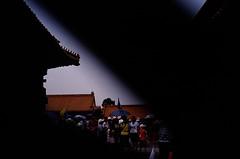 712_24580024 (haomin.zhu) Tags: city film kodak accident beijing forbidden contax t3 ektachrome e100vs