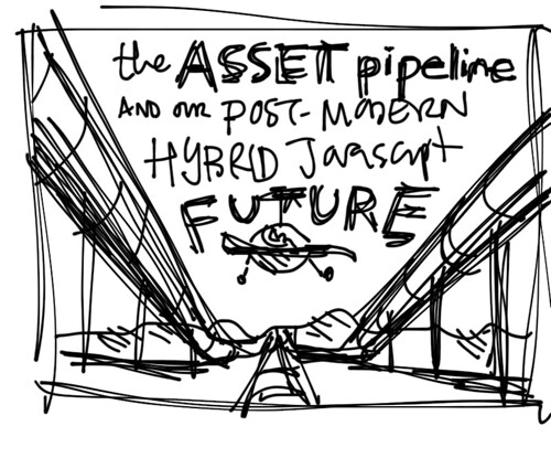 Pipeline Concept Sketch (iPad)