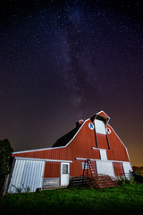 Night Barn (TheEvillOnes) Tags: agriculture art barn beautiful blue dark farm field illustration lake landscape light nature night old sky space summer white abandon abandoned astronomical astronomy background barnshed color constellation cosmos countryside decay decor fall farmhouse finland galaxy house hut milky milkyway nebula ostrobothnia panorama ruins rural scenery star starry stars universe way