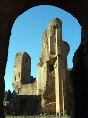 Looking through an archway (markhorrell) Tags: rome romanantiquities baths caracalla