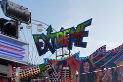 DSC02211 (A Parton Photography) Tags: fairground rides spinning longexposure miltonkeynes fireworks bonfire november cold