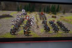 Toy Polish armies face off (quinet) Tags: 2015 museumofthepolisharmy muzeumwojskapolskiego poland soldaten varsovie warsaw warschau warsowa zinnfiguren diorama figures soldats toysoldiers