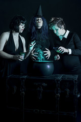 Day 3538 (evaxebra) Tags: 33daysofhalloween 33days haunted haunters witch witchcraft witches cauldron potion green smoke steam 3 three magic magicians black 365days evaxebra halloween october octoberphotochallenge opc2016 opc ingredients alchemy