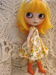 Vintage hankie dress...
