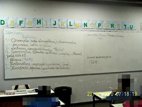 Rotina Prevista - e cumprida (23/11/2010)