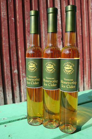 A Slice of Vermont for Winter: Champlain Orchards Honeycrisp ice wine