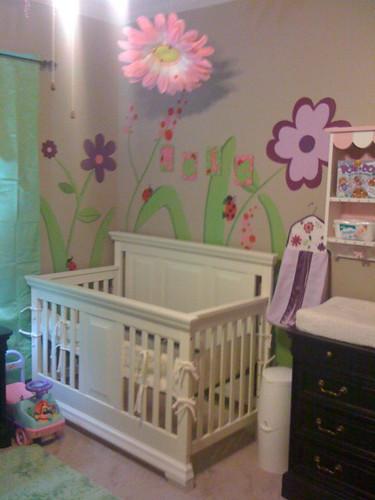Maia's crib