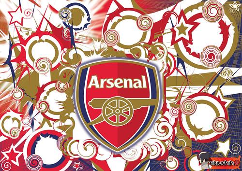 arsenal wallpapers for desktop 2011. arsenal logo wallpaper 2011.