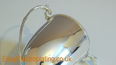 Silver Plated Antique Trophy c (EasyElectroplating) Tags: silverplated holloware antiquesilverware silverplating silverplatedtrophy antiquesilverrestoration