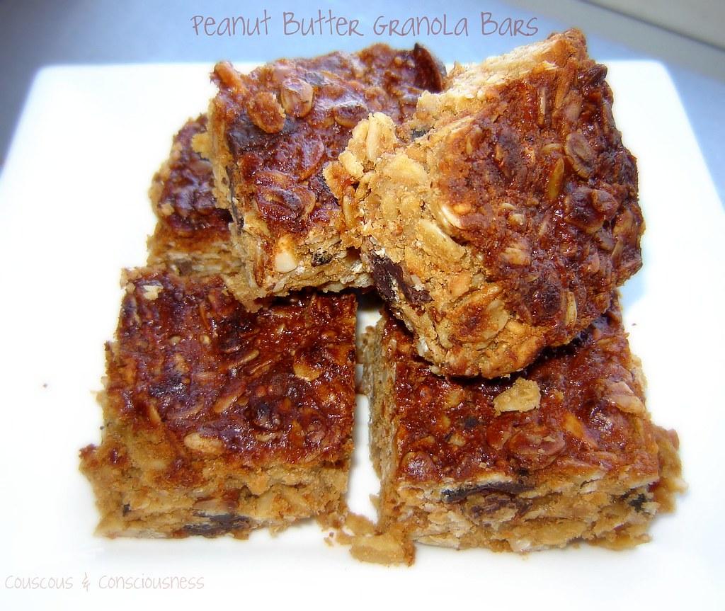 Peanut Butter Granola Bars 1