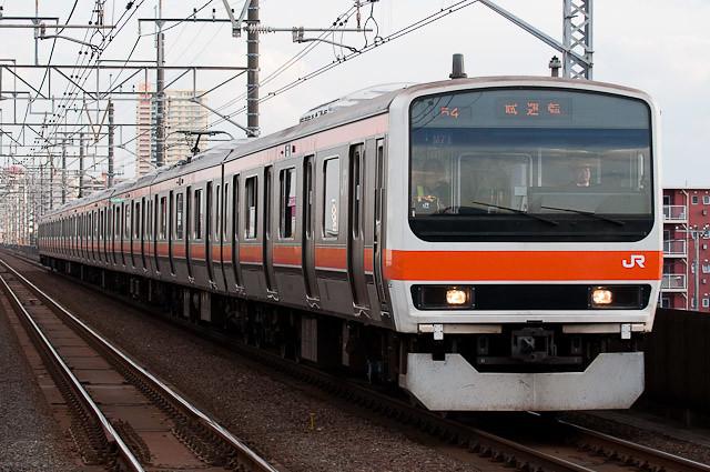 JR東日本 武蔵野線209系500番代 ケヨM71編成 試運転