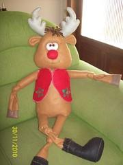 Rudolph (edilmarasantiago) Tags: cute natal toy artesanato artesanal craft felt noel plush feltro papainoel fofo decorao rena fieltro decorativo natalino