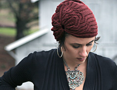 Cabled Turban (stitchdiva) Tags: milan turban timelessknittedhats