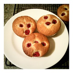 More happy-face muffins