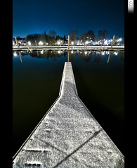 Origin of Symmetry (HD Photographie) Tags: snow france night port marina landscape high dynamic pentax ardennes sp ii di if neige af paysage tamron range nuit hdr ld plaisance k7 charlevillemzires f3545 1024mm asperical tamronspaf1024mmf3545diiildaspericalif