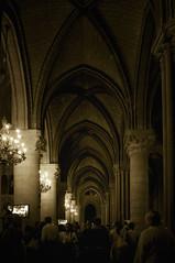 Dame (Mr sAg) Tags: holiday paris france church wonder mono arches tourists notredame pillars sag touristattraction candelabra simonharrison mrsag stillclutchingatstraws