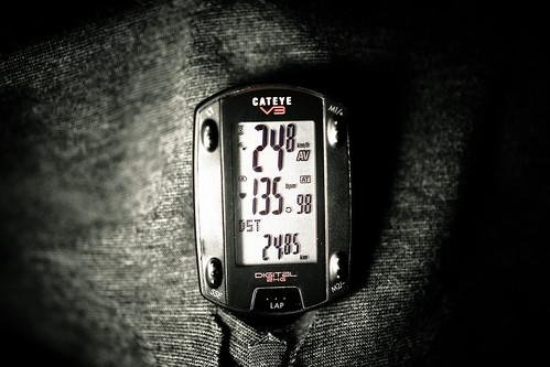 60min 24.85km ave24.8 インナー5
