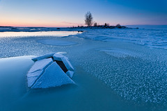 The First Frost #1 (Sven Seebeck) Tags: winter sunset ice finland isoniemi