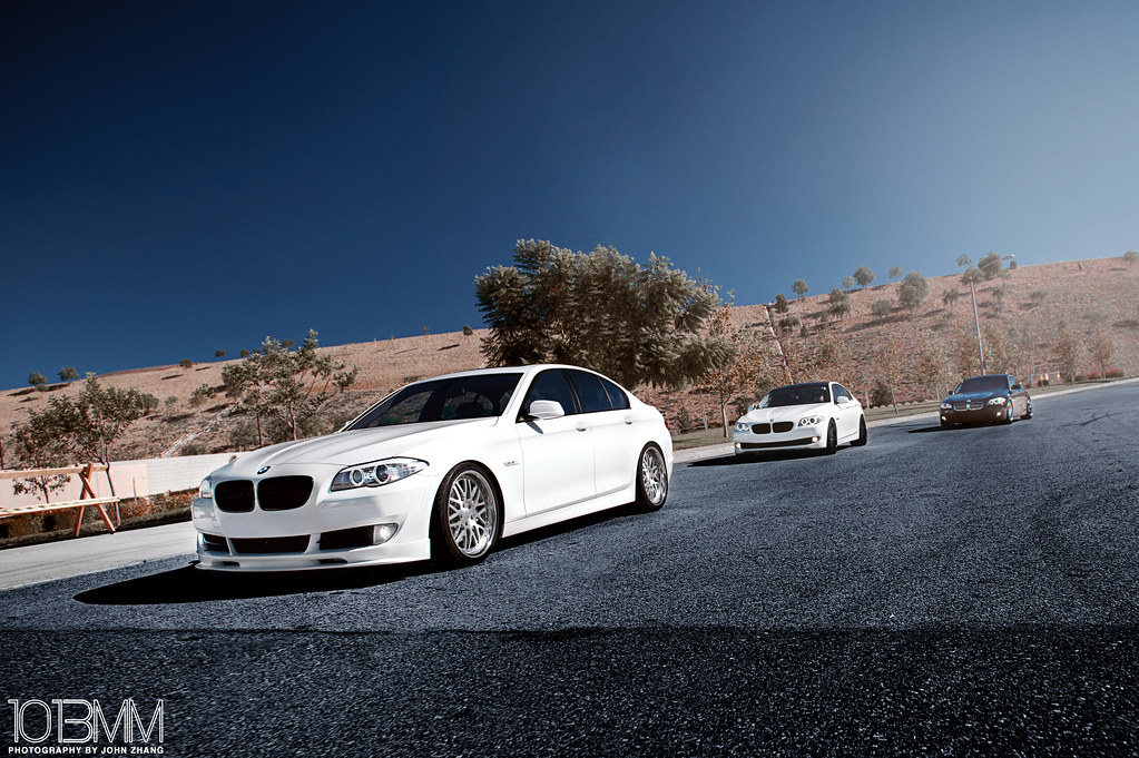 BMW 5-Series Trio Shoot