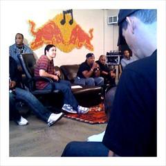 Chuck D at Red Bull Studios