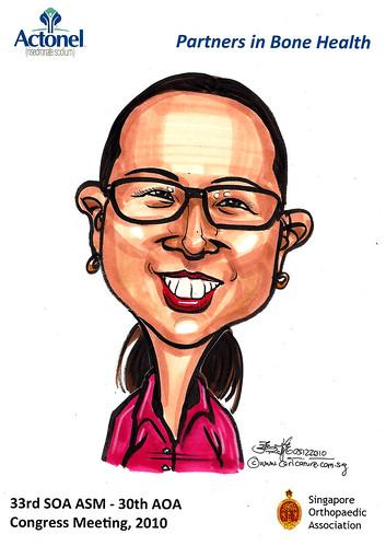 Caricatures for Sanofi-Aventis - 24