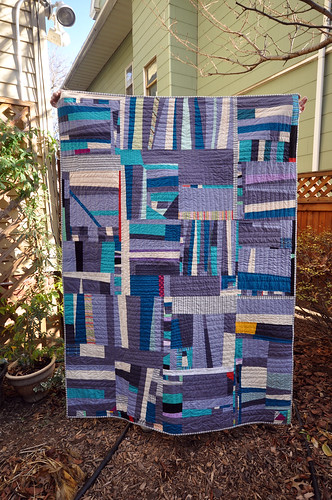 Crooked Stripes Quilt