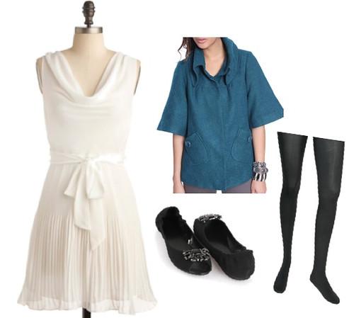 natalie portman white dress in black. A white dress isn#39;t just for