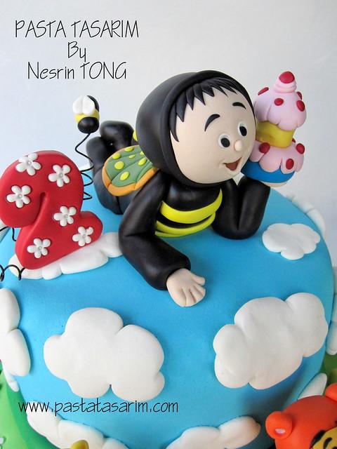 EGE KAAN'S 2ND BIRTHDAY CAKE - WINNIE THE POOH