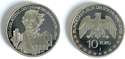 10 Euros de Alemania del 2003