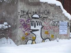 Fresh streetart in Tallinn