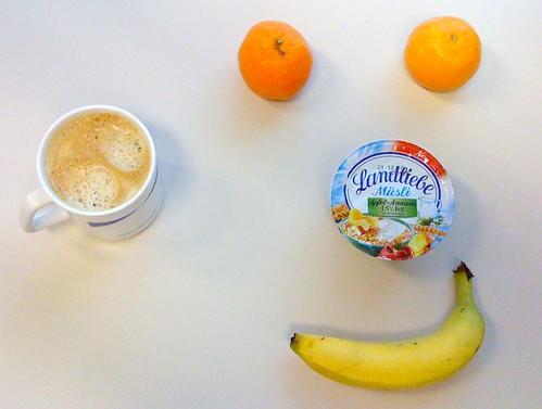 Landliebe Müsli, Clementinen & Banane