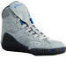 Asics Aggressor Grey and Royal Blue Wrestling Shoes2
