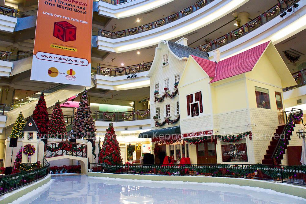 Christmas Decor @ 1Utama, KL, Malaysia