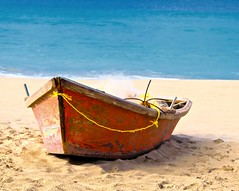 Fishing Boat on Crashboat Beach (IRainyDays) Tags: fishingboat crashboatbeach